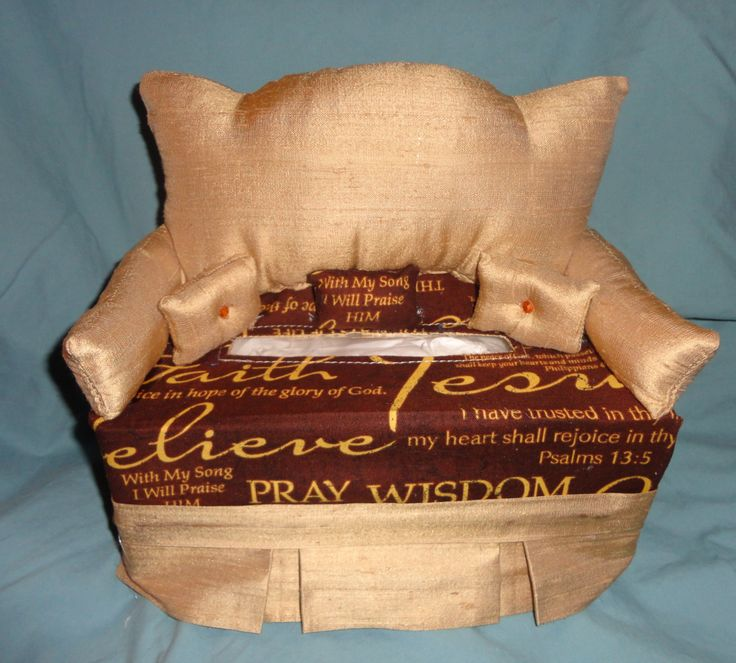Inspirational Tissue Box Couch