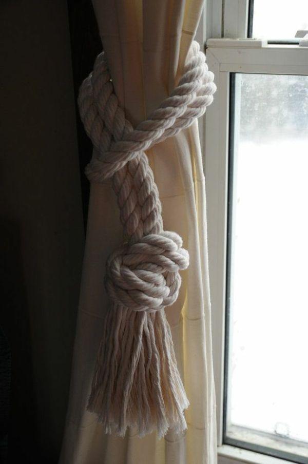 Gardinen Dekorationsvorschläge – Dekoideen für Fenster und Badezimmer