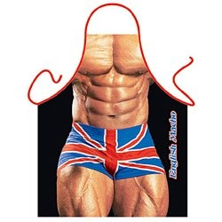 Make cooking more fun with this Macho Man cheeky, novelty apron