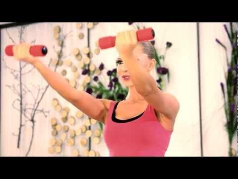 Exercitiu pentru brate (Lady Fit Home Edition DVD) - YouTube