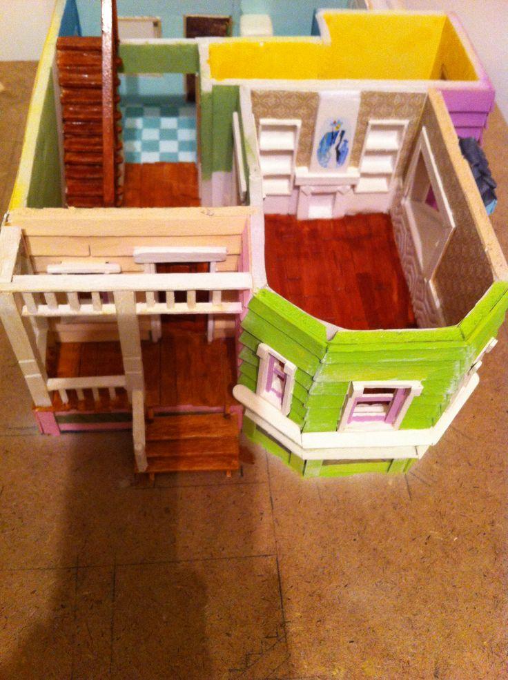 Maqueta up hobbys proyecto house up pixar disney pinterest for Todo para casa