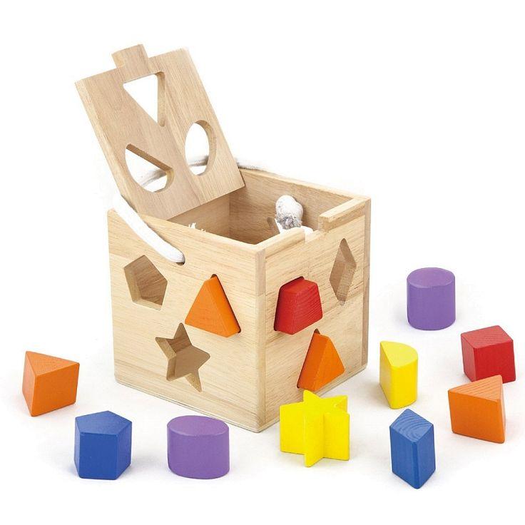 Viga Toys, Kwadrat, sorter kształtów
