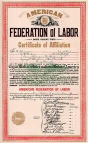 I love the American  federation  of labor.
