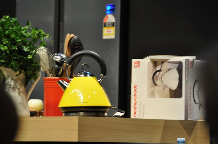 Morphy Richards Accents Kettle at the Melbourne Good Food & Wine Show - June 5th 2015