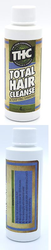 Drug Testing: Thc - Total Hair Cleanse Shampoo - Complete Hair Detoxification Program BUY IT NOW ONLY: $30.0