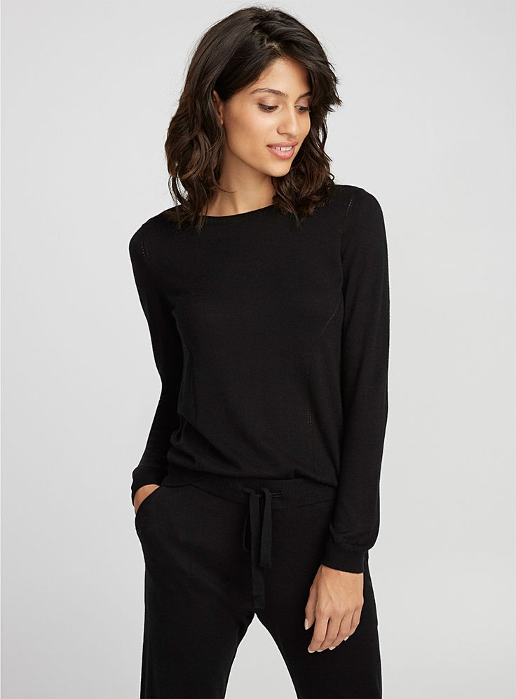 Le pull touche de cachemire | Miiyu | Pyjamas, Vêtements de Nuit et de Détente pour Femme en ligne | Simons