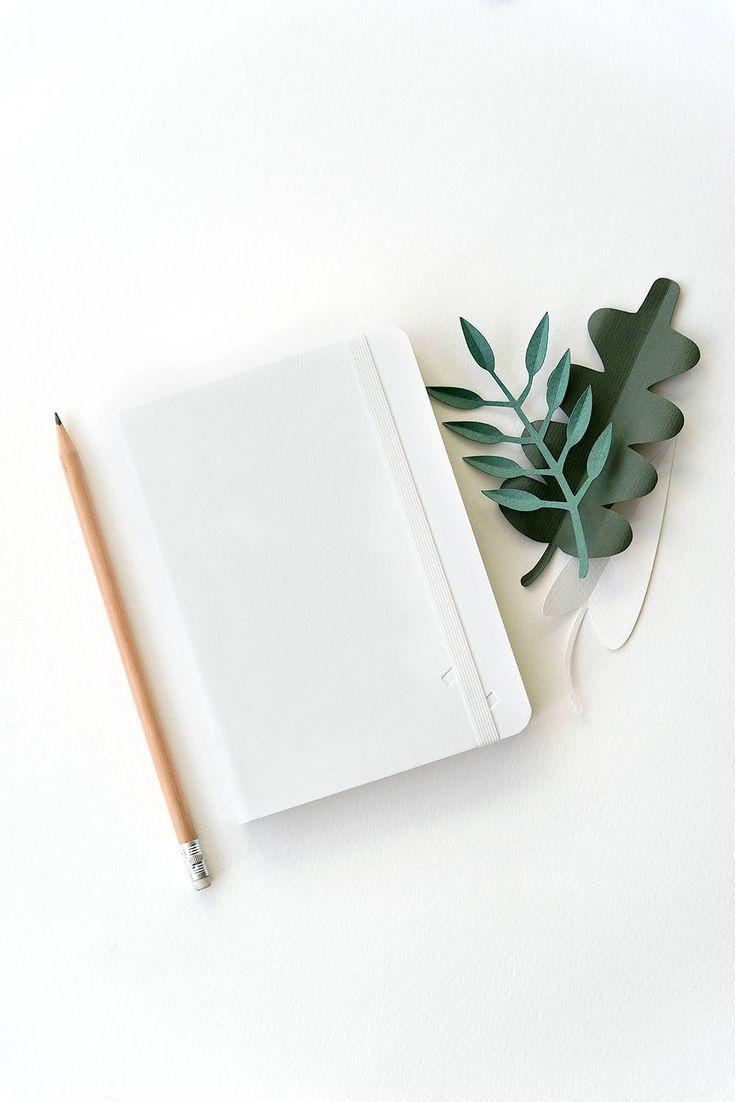 Картинки с блокнотом на белом фоне для инстаграм