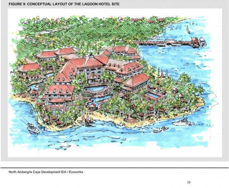 Massive casino-hotel development proposed in Laguna de Cayo Frances area