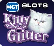 IGT Slots Kitty Glitter Play real Las Vegas slots from home with IGT Kitty Glitter—the latest premium slot experience! Play max bet and see why this Cat is Queen! Enjoy three bonus games: Siberian Storm, Double Diamond 3x4x5x, and Triple Stars! With video bonuses, true casino payouts, authentic sounds and