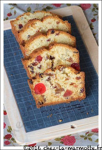 Cake anglais aux fruits confits (Défi culinaire # 13) | Marmotte cuisine !