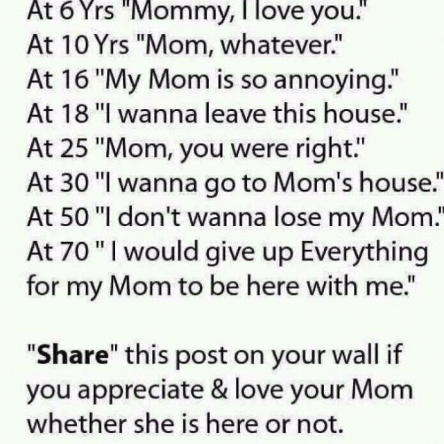 <3Thoughts, Inspiration, Mothersday, Mothers Day, Mommy, So True, Mom Quotes, Families, Love My Mom