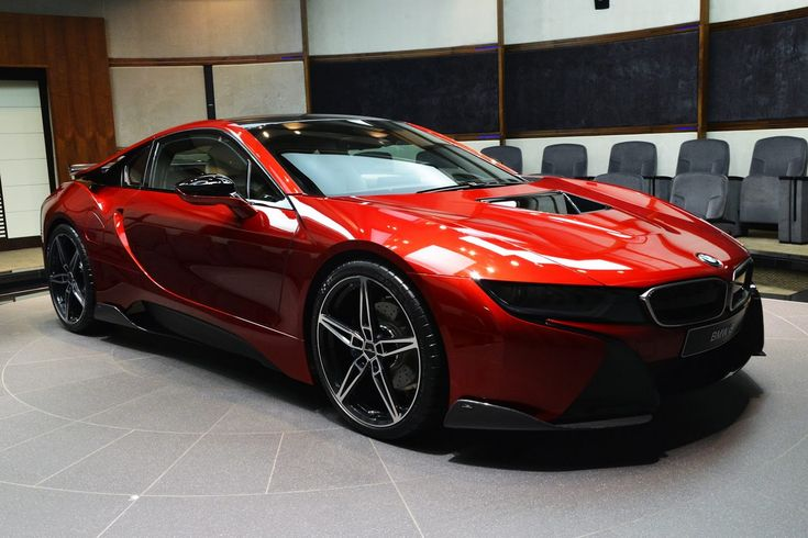 The Spotlight Is Yours With This Custom Lava Red BMW i8 This hot, custom Lava Red BMW i8 is available only through the Abu Dhabi BMW dealer. The color is similar to Proton Red, which BMW has presented in the beginning of this year for a limited special edition of i8. i8 is the best selling hybrid sport car in the world and represents a genuine symbol...