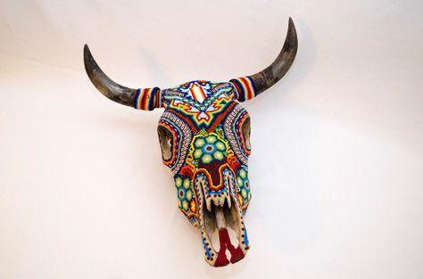 ¿En dónde más vas a encontrar algo tan majestuoso como esta cabeza de vaca?
