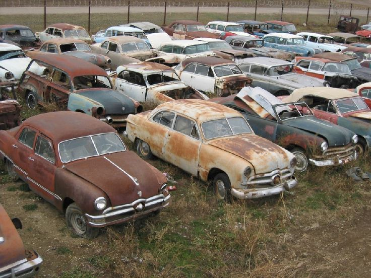 Best Rusty Discards Grave Yards For Cars Images On Pinterest