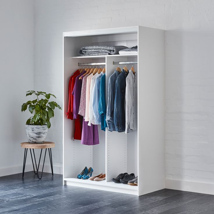 Find Bedford 2000 x 1200 x 595mm White Wardrobe Unit at Bunnings Warehouse. Visit your local store for the widest range of storage & cleaning products.
