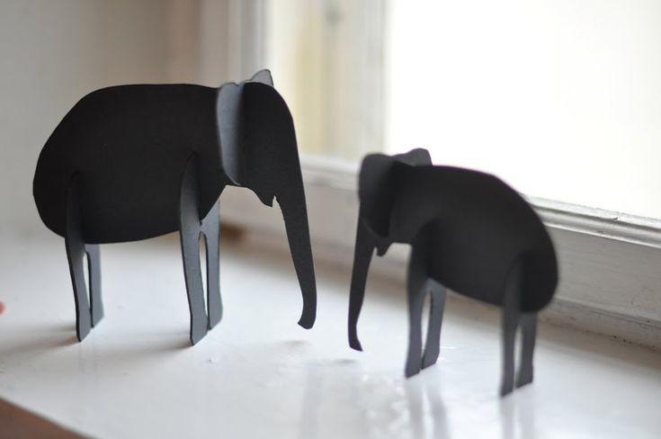 lilla a: En elefant kom marcherande