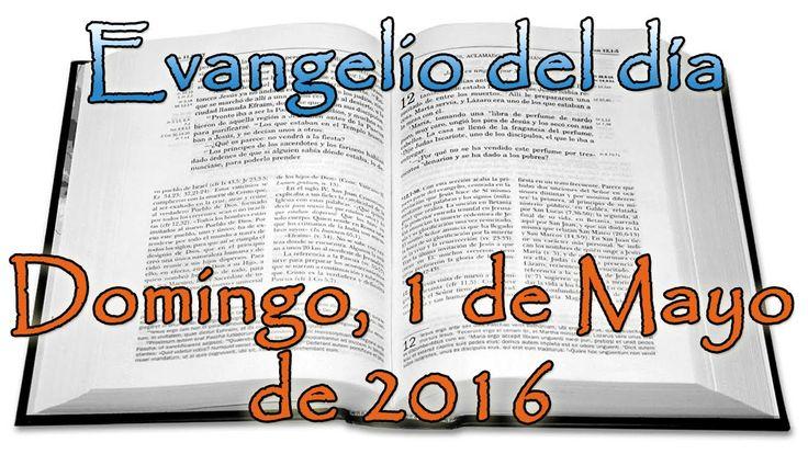 Evangelio del día (Domingo, 1 de Mayo de 2016)