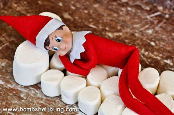 Nap Time | 33 Genius Elf On The Shelf Ideas