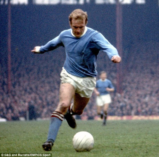 Francis Lee - Manchester City - as a player.
