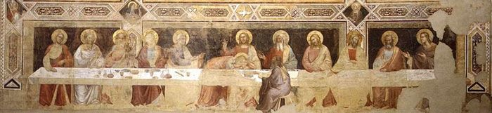Art in Tuscany   Last supper frescoes in Florence - Map of The Last Supper Fresco Tour