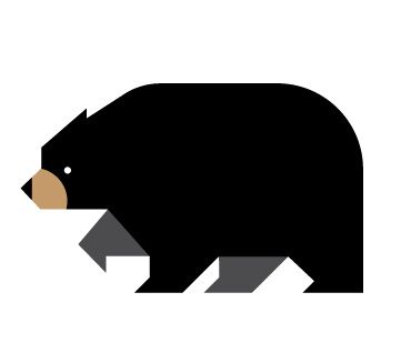 Blackbear by Always With Honor #icon #iconic #icondesign #picto #illustration #animal #bear