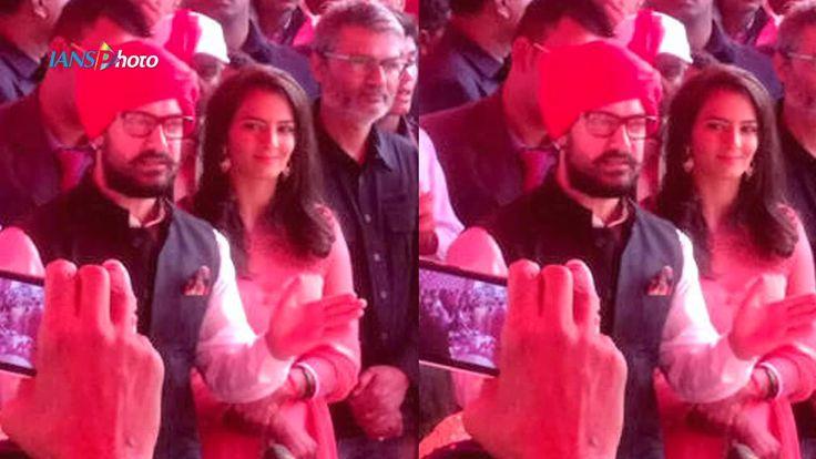 Exclusive Video: Aamir Khan attends on daughter Geeta Phogat's WEDDING | Watch Video -   #dangal #upcomingMovies #haryana #marriage