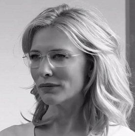 cate blanchettthe new face of silhouette eyewear