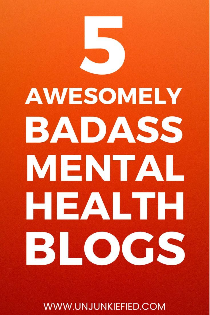 Mental health affects millions of people. Whether you are diagnosed with mental health issues or not. You need to take care of your mental health.  Here are 5 of the most badass mental health blogs in existence. Check them out!