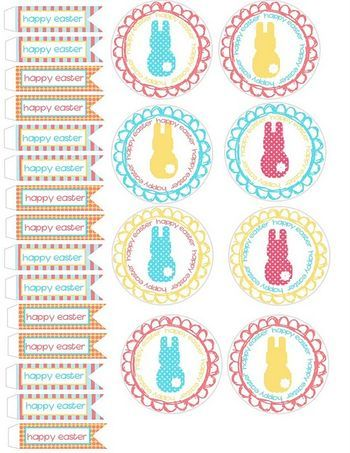 sweet Easter Printables: Art Party, Cupcake Wrappers, Art Parties, Cupcakes Toppers, Easter Cupcakes, Free Printable, Easter Printable, Food Art, Cupcakes Wrappers