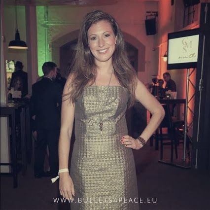 #PEACE #BULLETS4PEACE #ILOVEB4P Danke an moderatorin Mara Bergmann