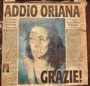 Biografia di Oriana Fallaci