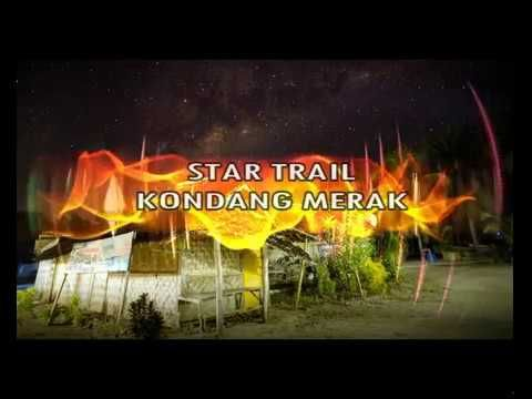 Kondang Merak Beach Malang Indonesia - Star Trail Photography