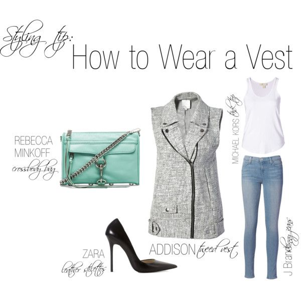 """""""How to Wear a Vest"""" by shopeluxe on Polyvore"""