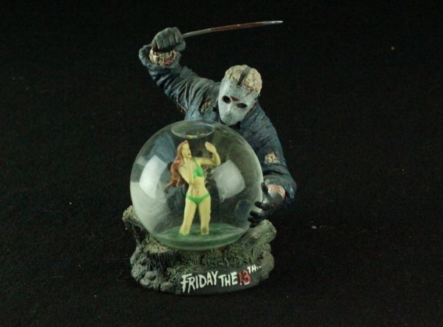 FRIDAY THE 13TH JASON VOORHEES NECA RARE SOLD OUT SNOW GLOBE HORROR | eBay
