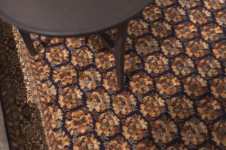 Klasyczny dywan w nowoczesnym wnętrzu