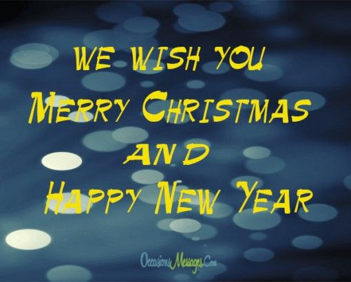 Merry Christmas Wishes, Messages and SMS
