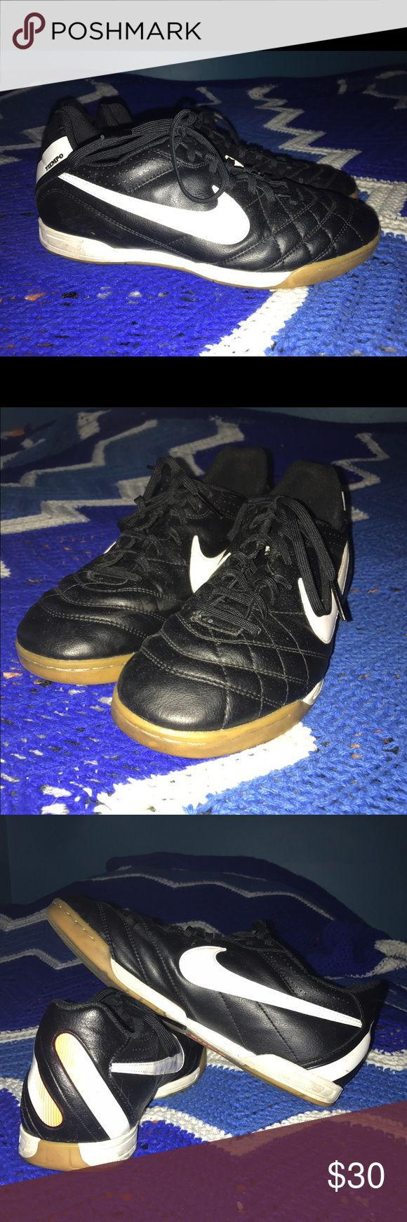 Nike Turf Shoes Nike turf shoes. Worn for a few inside field hockey games on turf. In good condition. Size 8.5 Nike Shoes Athletic Shoes