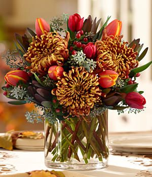 Seasonal Splendor Centerpiece at ProFlowers