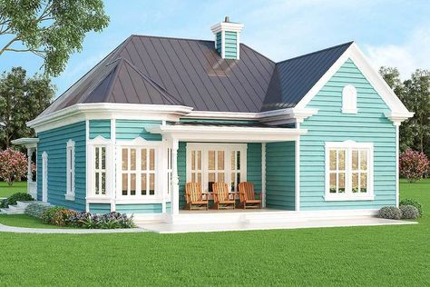 Plan 31088D: Vacation or City Home