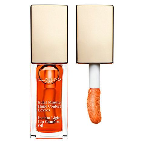 Lip Oil || Instant Light Lip Comfort Oil- Tangerine