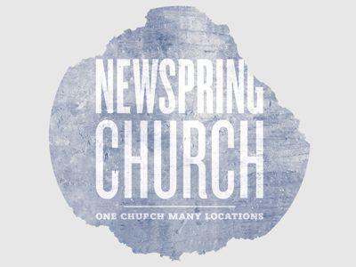 newspring church t-shirt.