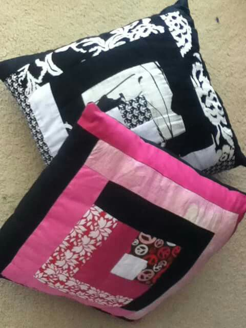 Strip pillows