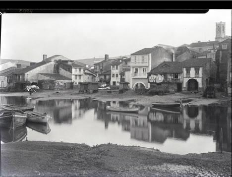 """Rut M. Anderson: ::""""Una vista de la villa. Betanzos (A Coruña), 21 de enero de 1926, a mediodía. Archivo Hispanic Society"""