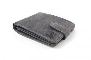 Wild shark wallet in grey color for very demanding men.