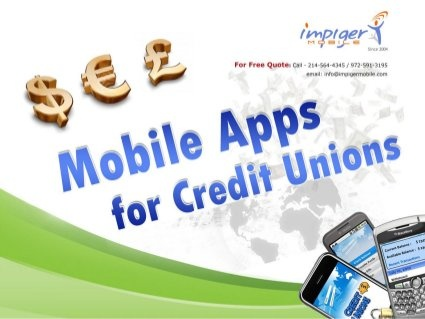 Mobile Apps for Credit Unions