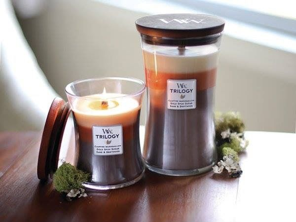 WoodWick Candles Cafe Sweets Trilogy Candle