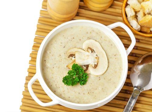 Žampionová polévka velmi rychlá | Recepty | KetoDiet CZ