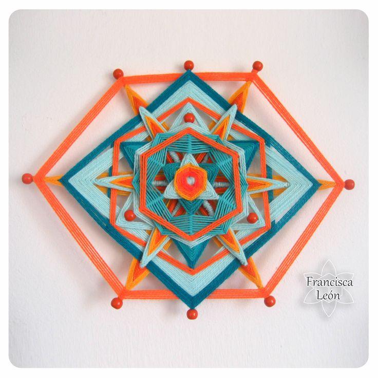 Realizo clases en Santiago de Chile <3 Facebook: Mandalas Tejidos Francisca León <3 Web: http://www. talleresdemandalas. cl <3 correo: leon.francisca@ gmail.com <3
