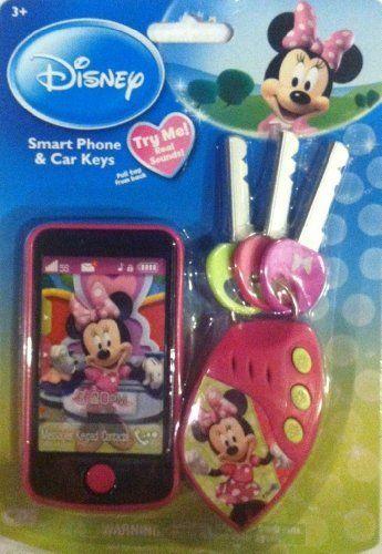 Disney Minnie Mouse Smart Phone & Car Keys by Creative Designs International, Ltd.. $25.00. .