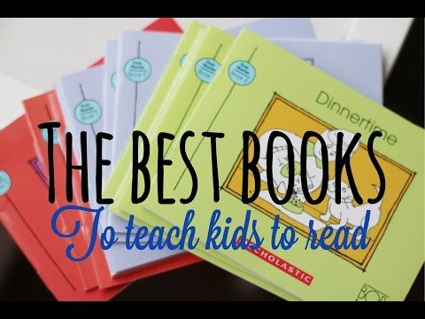 Best Books to Teach Kids How to Read!